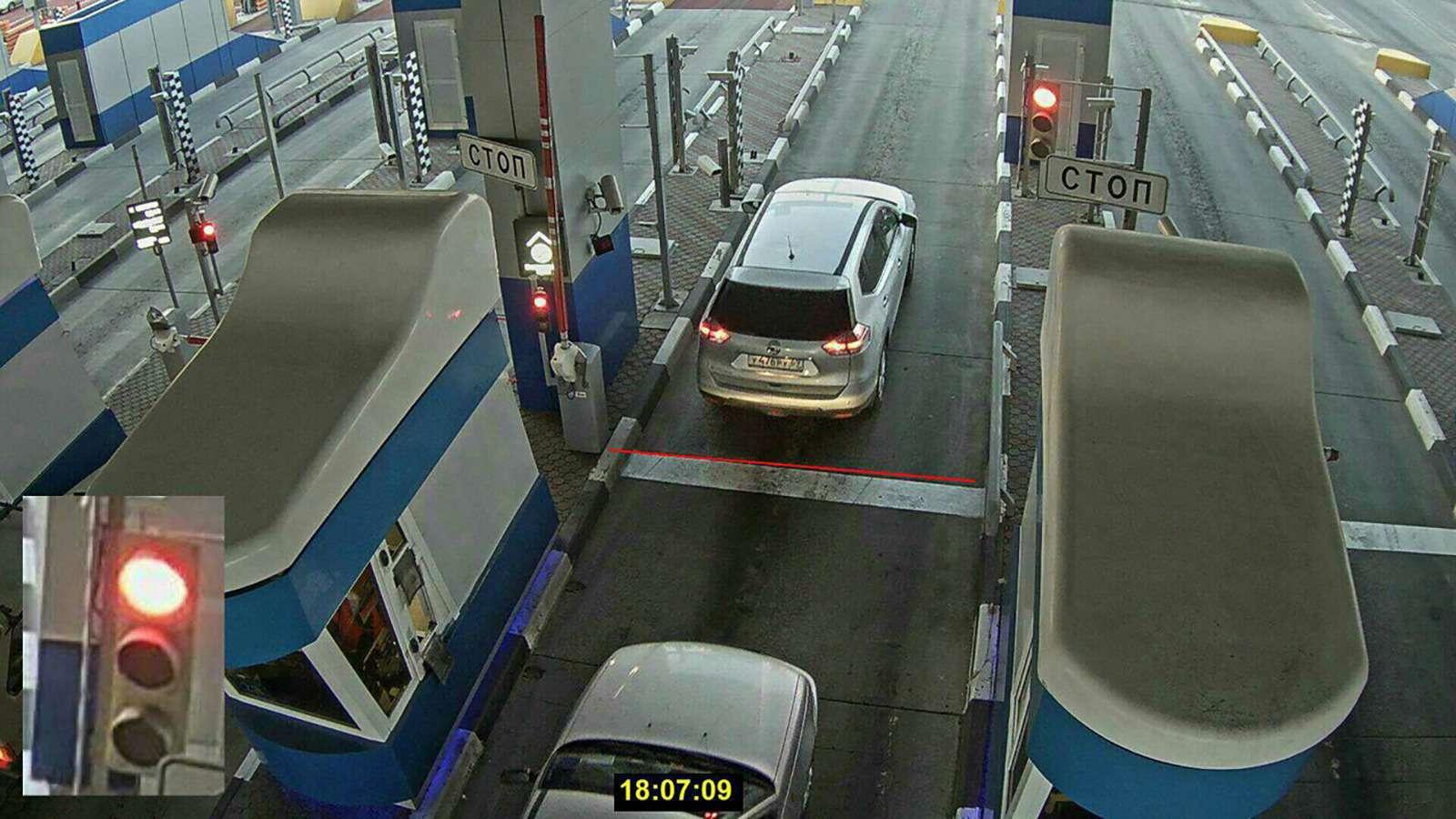 Какое наказание за бесплатный проезд по платной дороге
