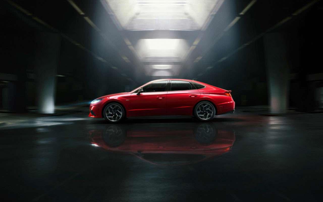 Появилась новая, самая мощная версия Hyundai Sonata— фото 1200285
