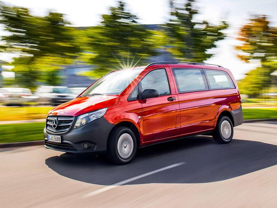 Mercedes Benz, Vito Präsentation und Fahrtermin inVitoria/Span