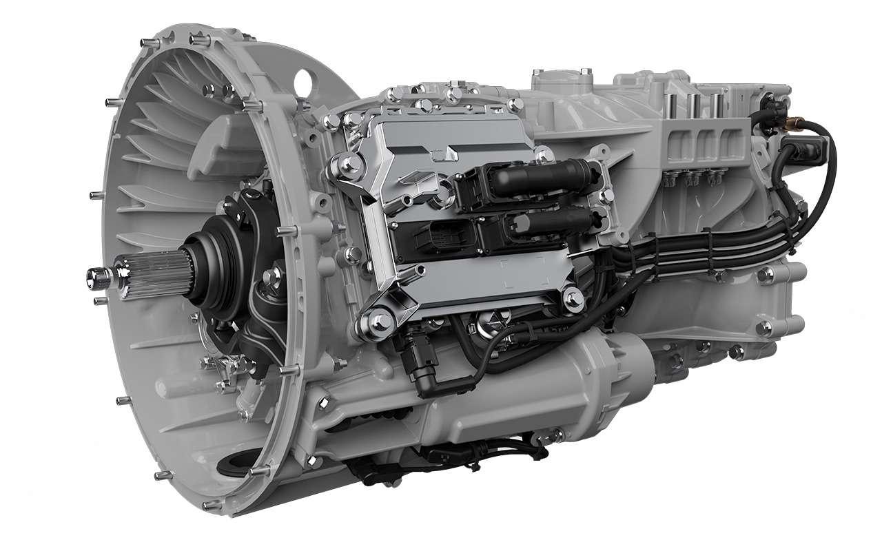 Новый V8и коробка без масла— смелая идея Scania— фото 1221045