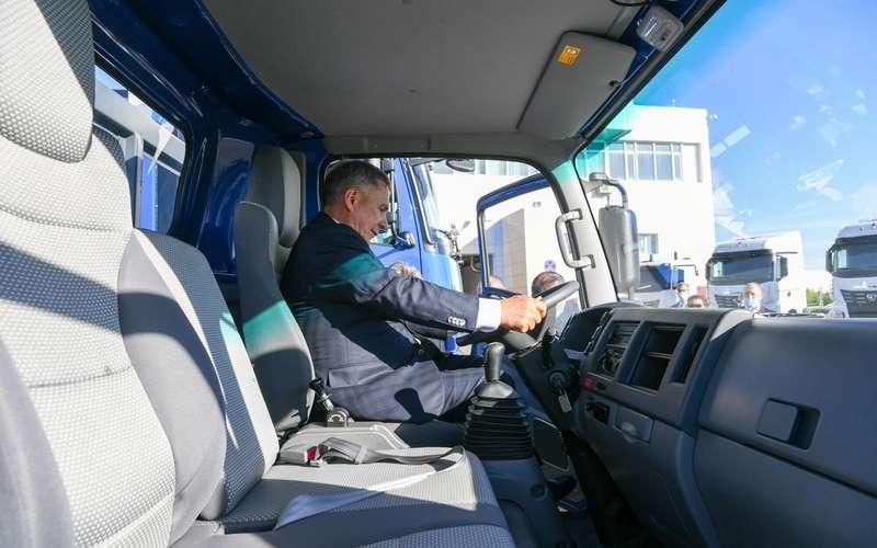 КАМАЗ Компас (конкурент ГАЗели): все технические подробности