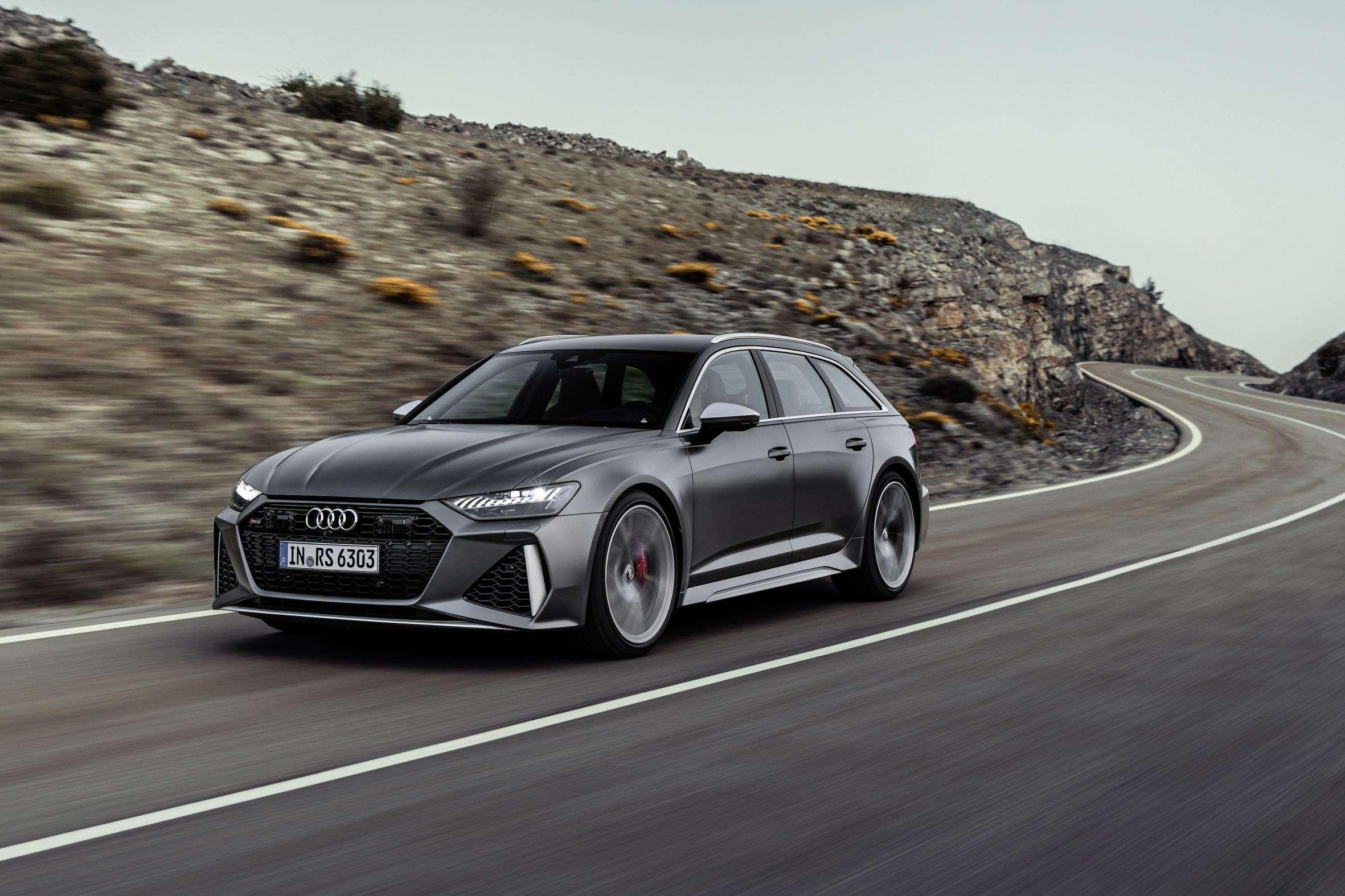 Audi сделала 600-сильный универсал A6с фарами отA7— фото 993274