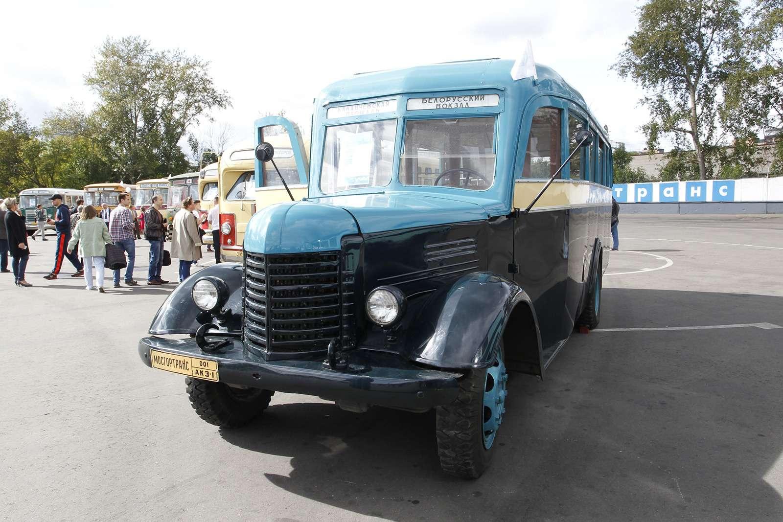 Автобусы нашего детства— выставка пассажирского транспорта— фото 792654