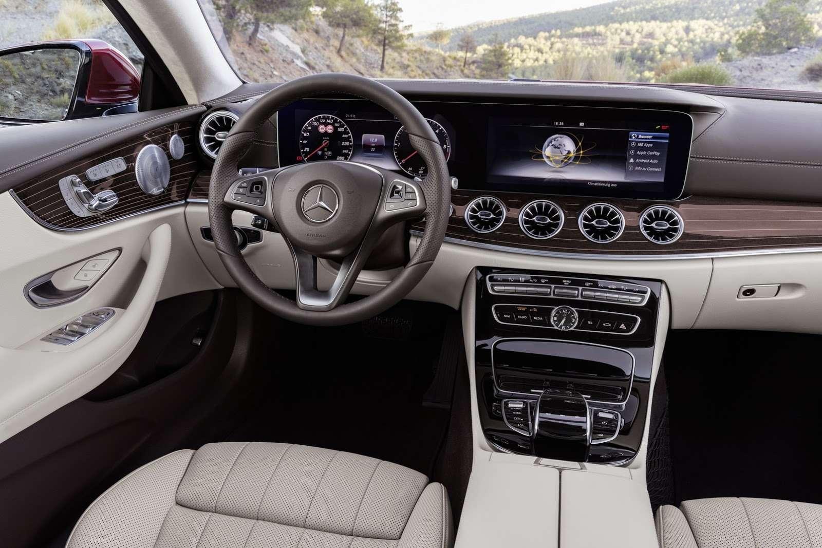 Больше илучше: Mercedes-Benz представил новое купе E-класса— фото 678181