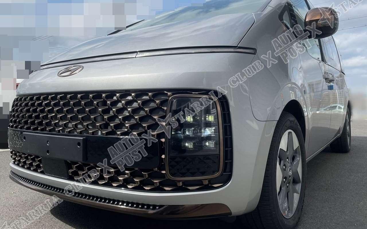 Hyundai Staria: первые «живые» фото идвигатели— фото 1233956
