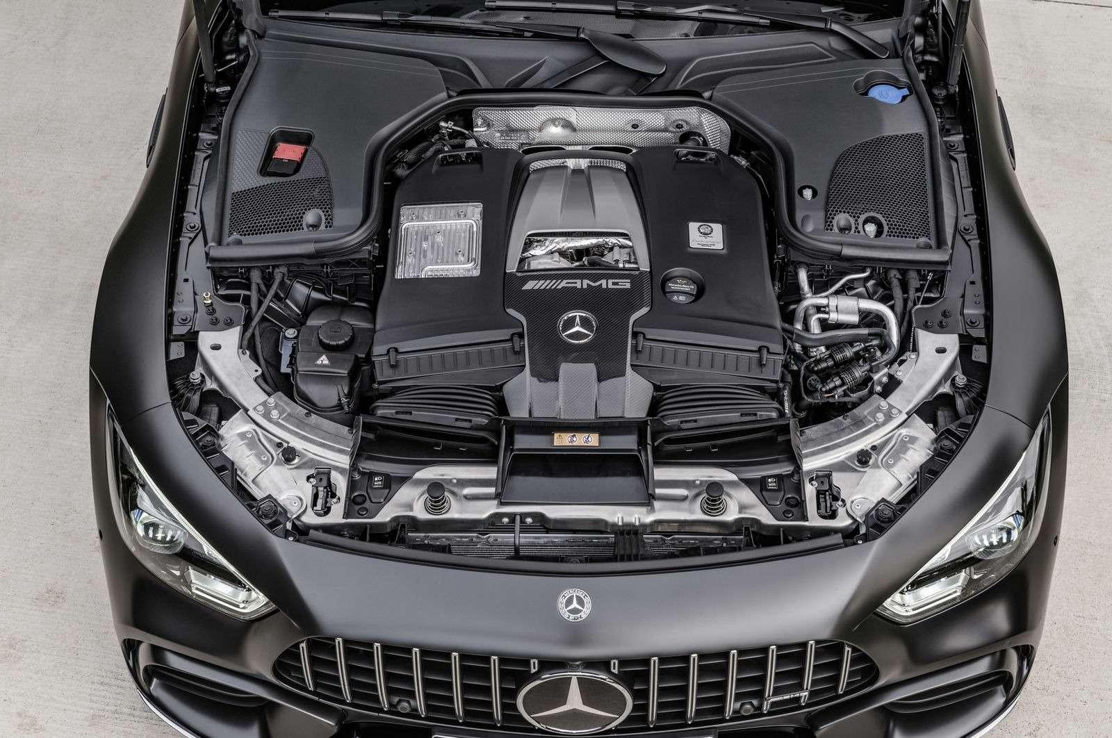Подмена! Пятидверный Mercedes-AMG GTполучил «тележку» Е-класса— фото 851521