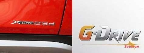 X-drive (BMW) иG-Drive (Газпром нефть)