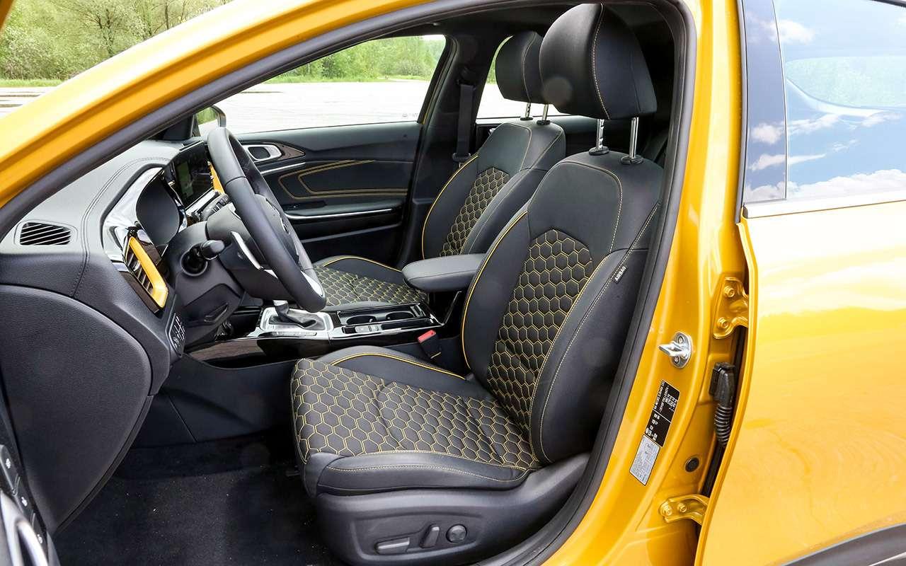 Новый Kia XCeed: сравнили две версии «почти кроссовера»— фото 1143622
