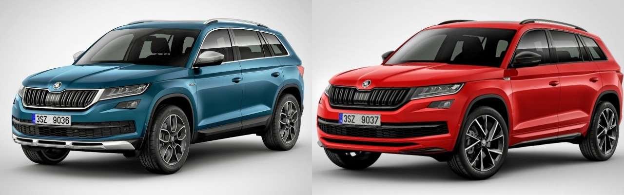 Skoda Kodiaq или Volkswagen Tiguan: какой кроссовер выбрать?— фото 861063