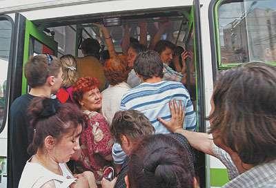 посадка вавтобус
