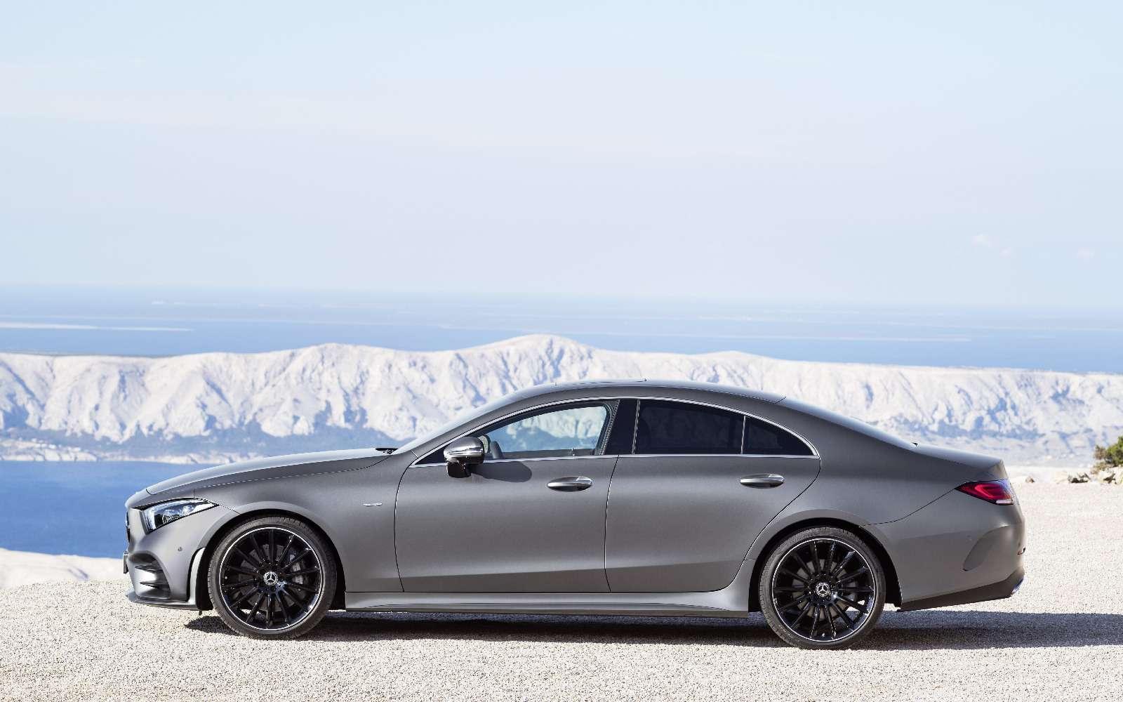 Новый Mercedes-Benz CLS: еще больше чувственности— фото 822042