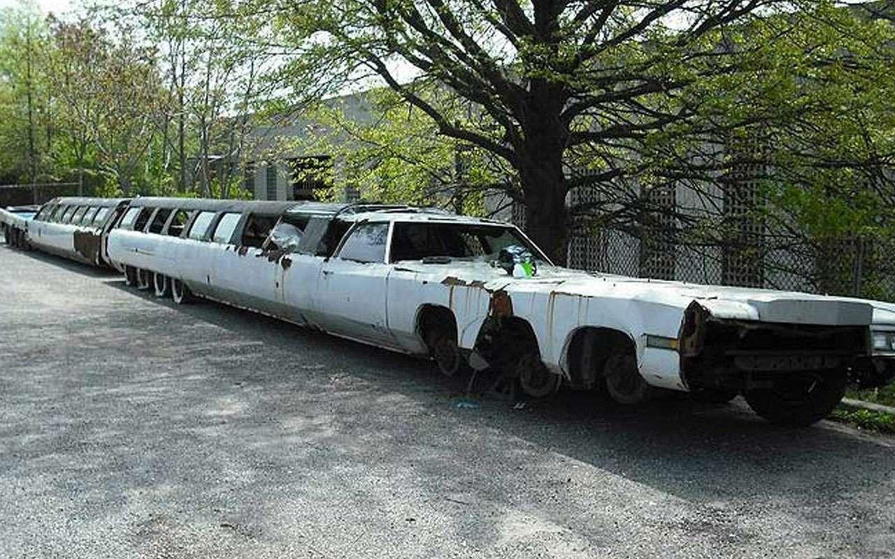 Самый длинный вмире лимузин— вытакое видели когда-нибудь?— фото 1122594