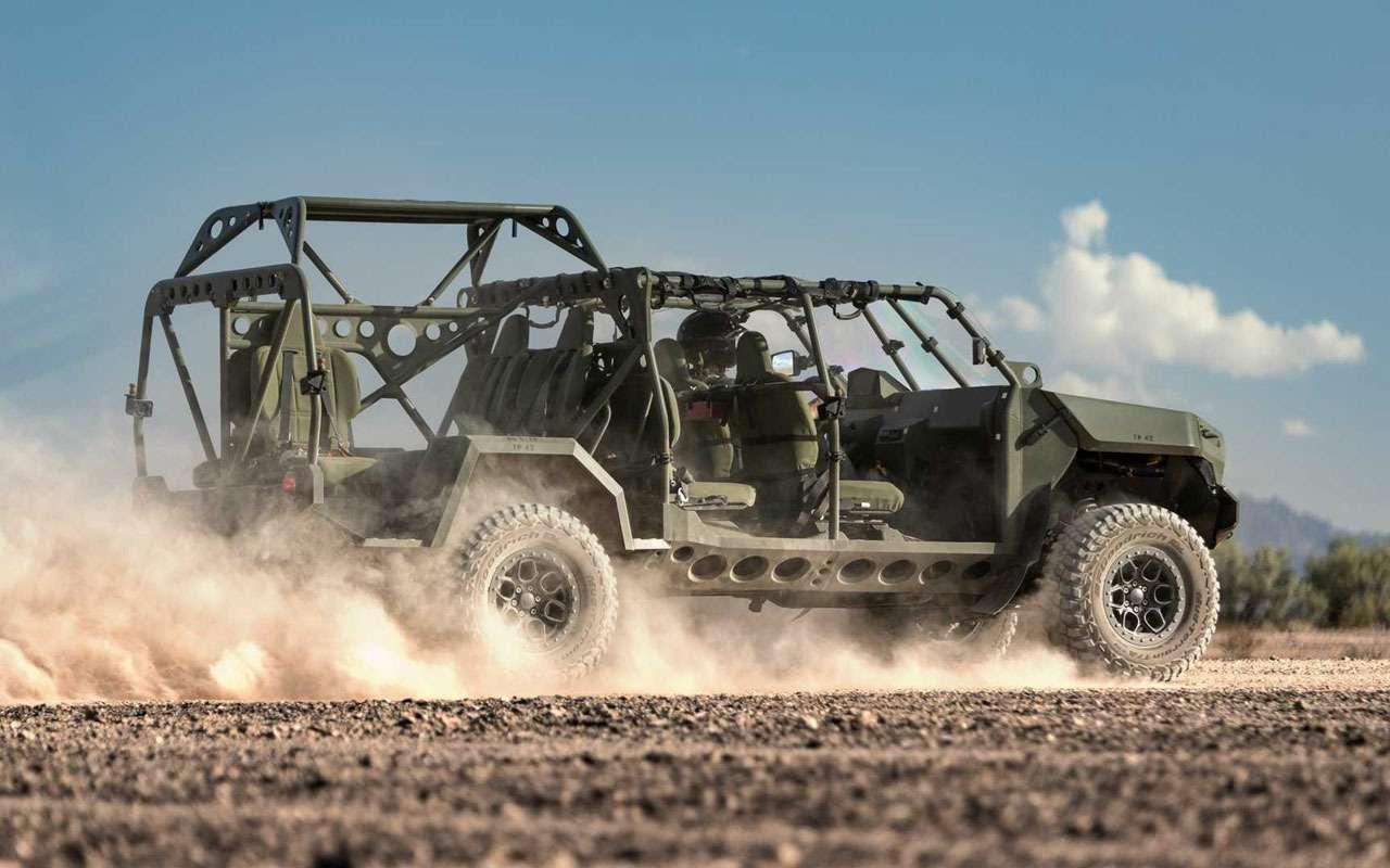 Новая машина дляпехоты НАТО: начались поставки— фото 1197421
