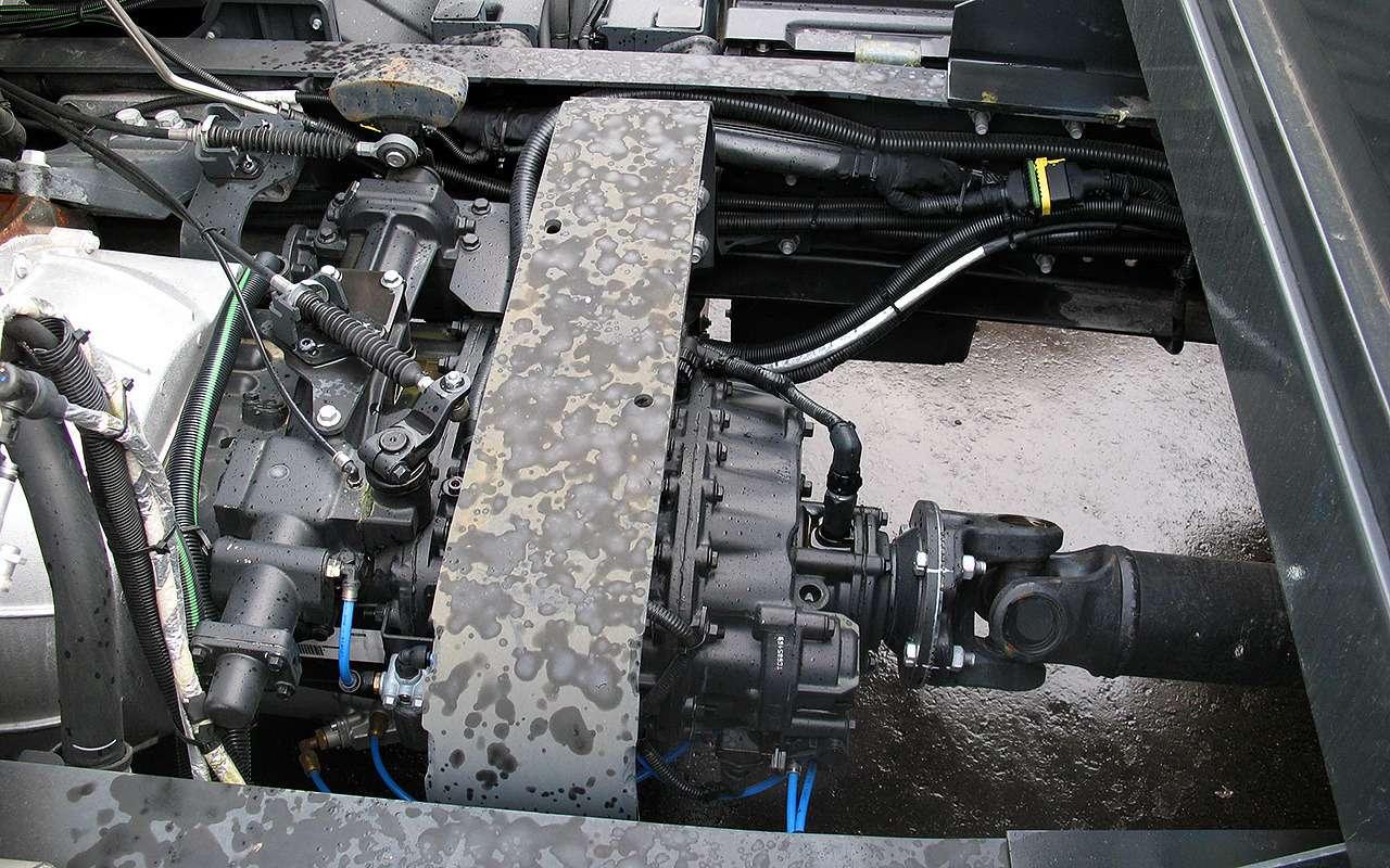 Новый 18-тонный грузовик Ford российской сборки— фото 1226839
