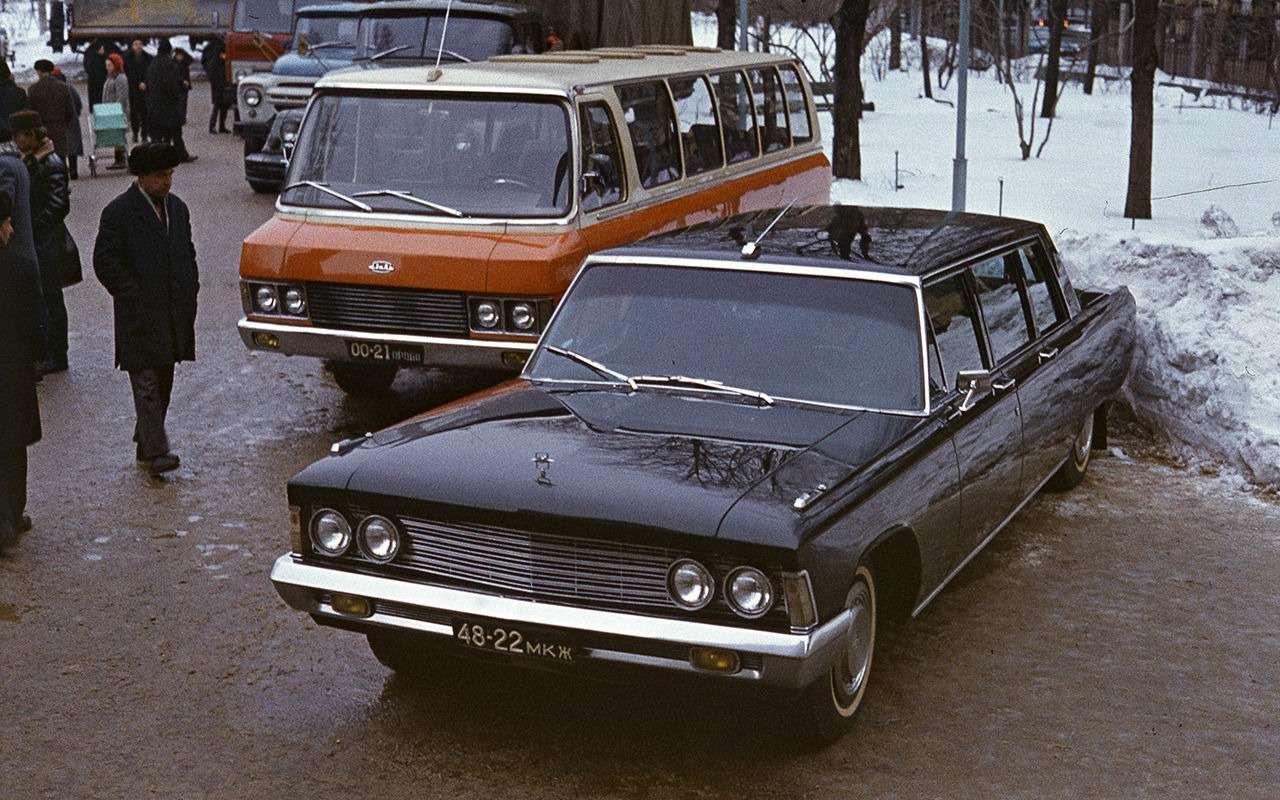 Самые редкие серийные автомобили СССР— фото 868843