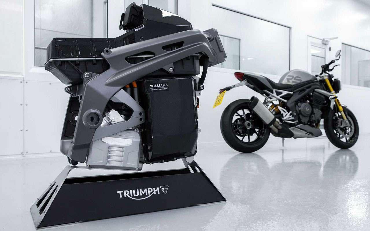 Triumph представила свой будущий электробайк— фото 1233625