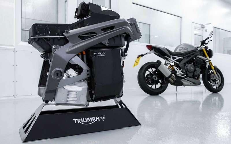 Triumph представила свой будущий электробайк