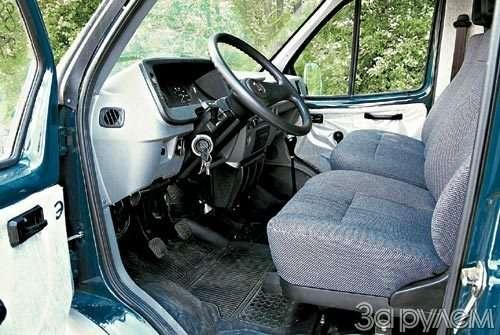 Тест Kia Pregio, ГАЗ-2752
