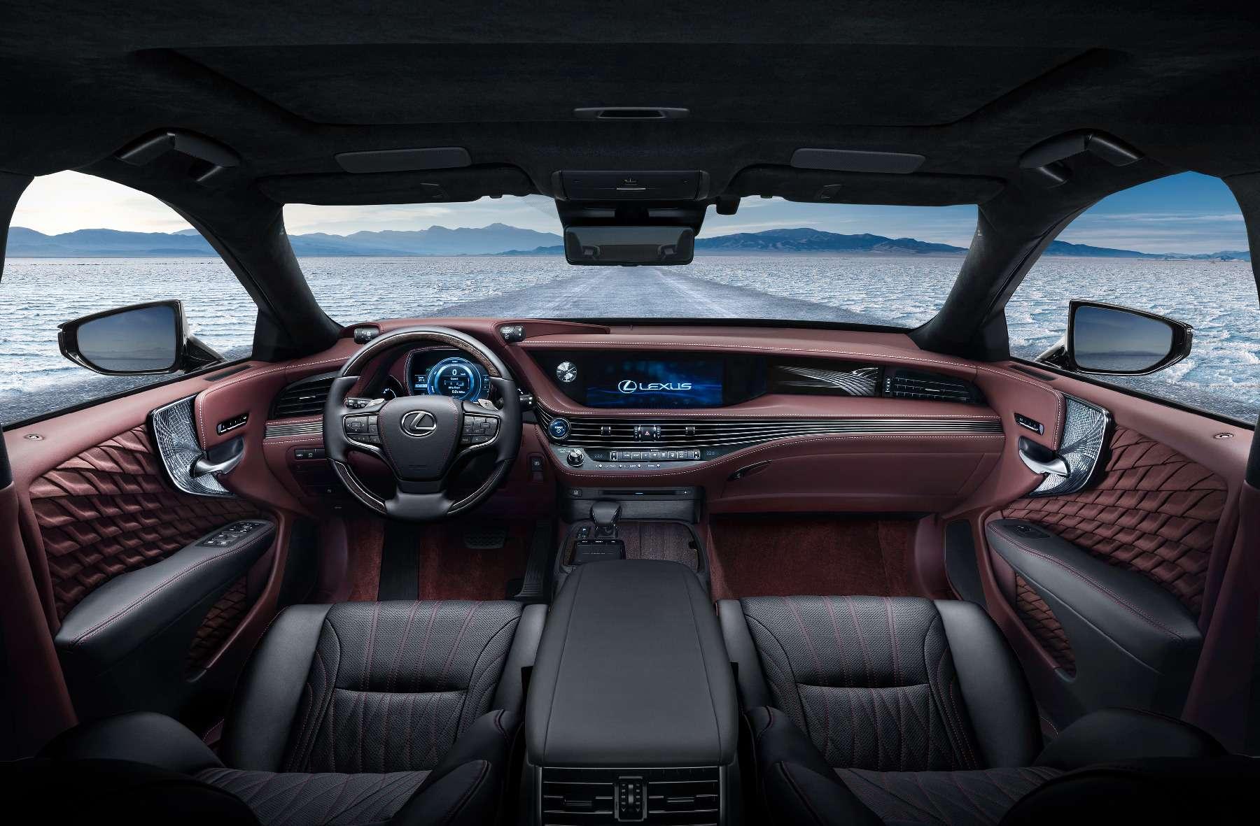 Новый Lexus LSпредстал вЖеневе вгибридном исполнении 500h— фото 718367