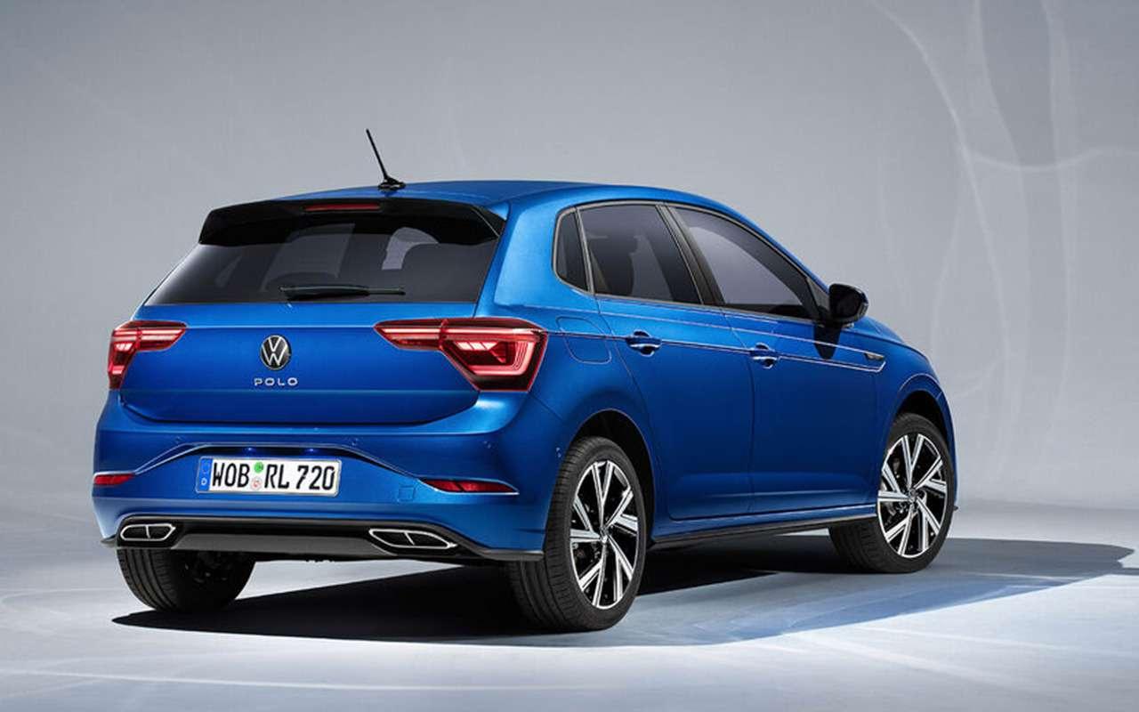 VWпоказал обновленный Polo: это жемини-Golf!— фото 1241873