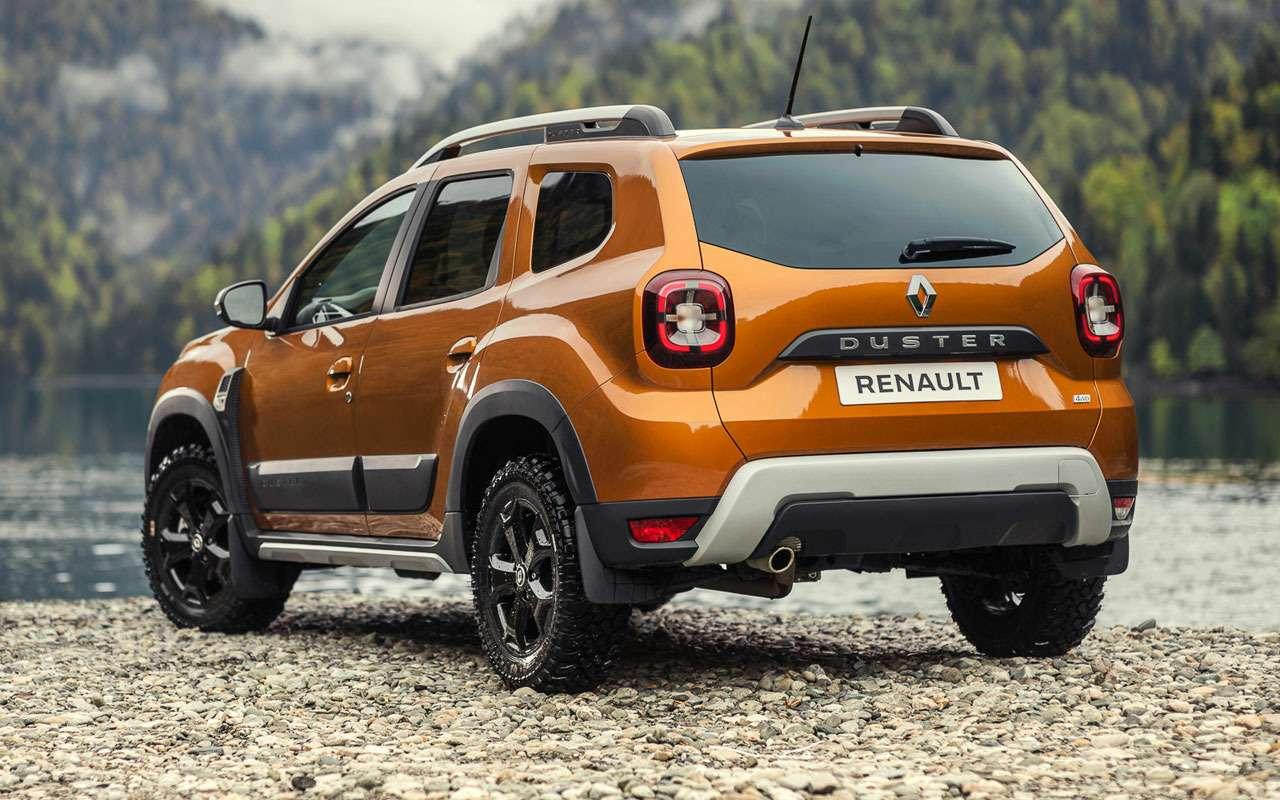Renault представила новый Duster дляРоссии— фото 1209168