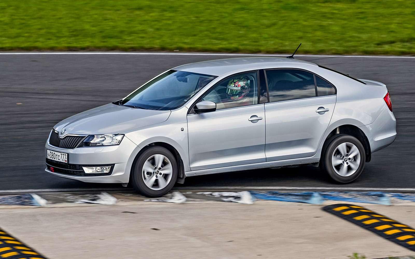 VWPolo GTпротив конкурентов: тест на«Смоленском кольце»— фото 644229