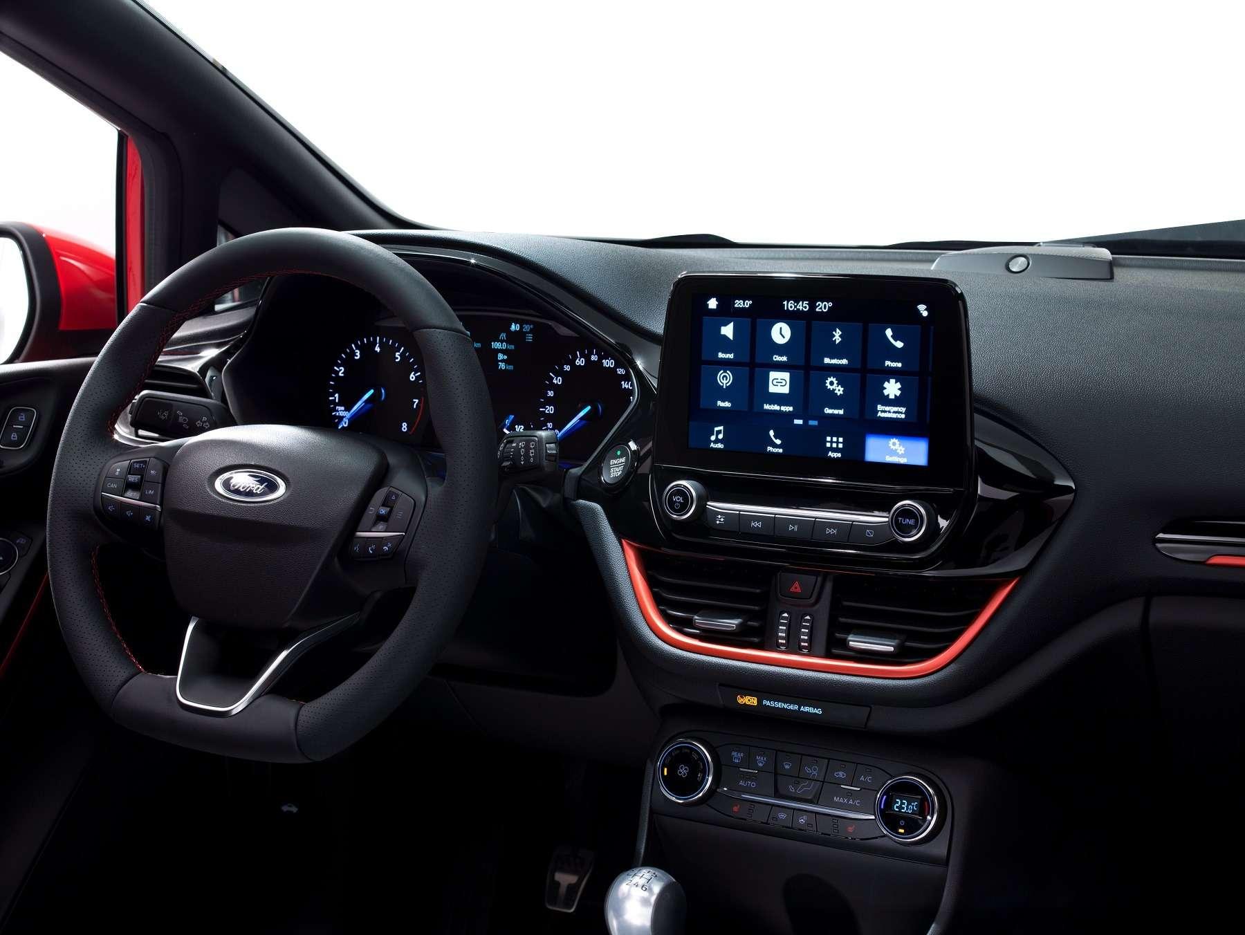 Кросс-вирус иторжество технологий: Ford представил новый хэтчбек Fiesta— фото 671288