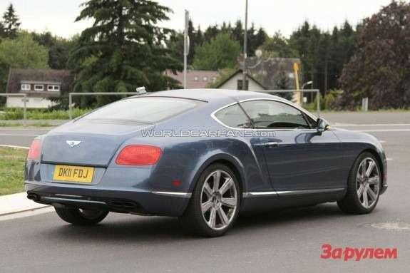 Bentley Continental GTSpeed side-rear view