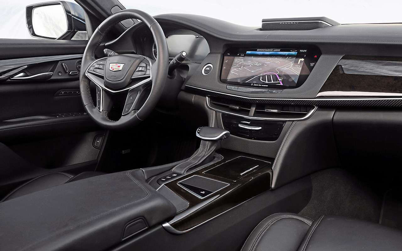 Большой тест престижных седанов: новый Lexus LS500и конкуренты— фото 928735