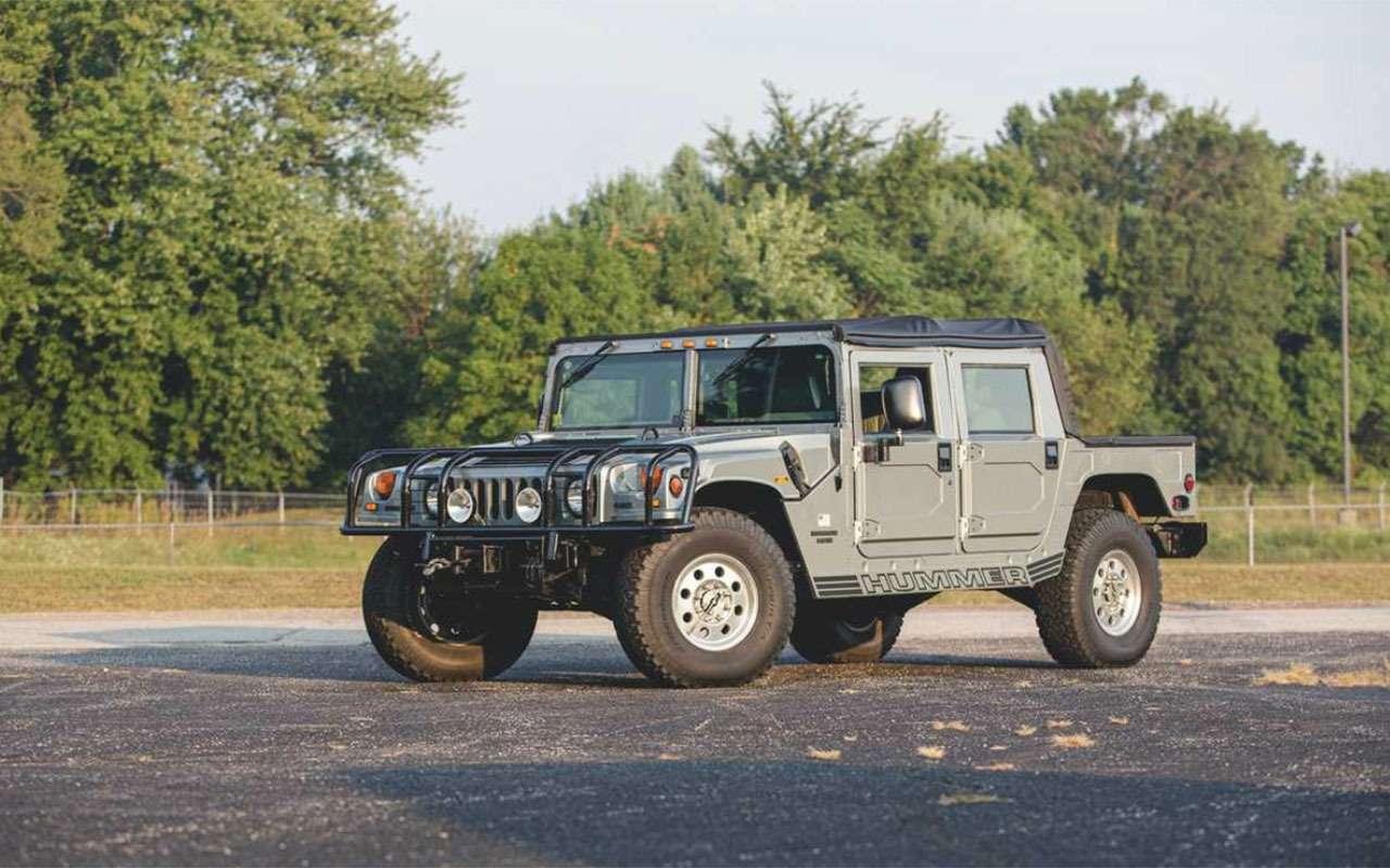 Могучий клещ, тот самый Willys, Hummer...— аукцион военных автомобилей— фото 1104426