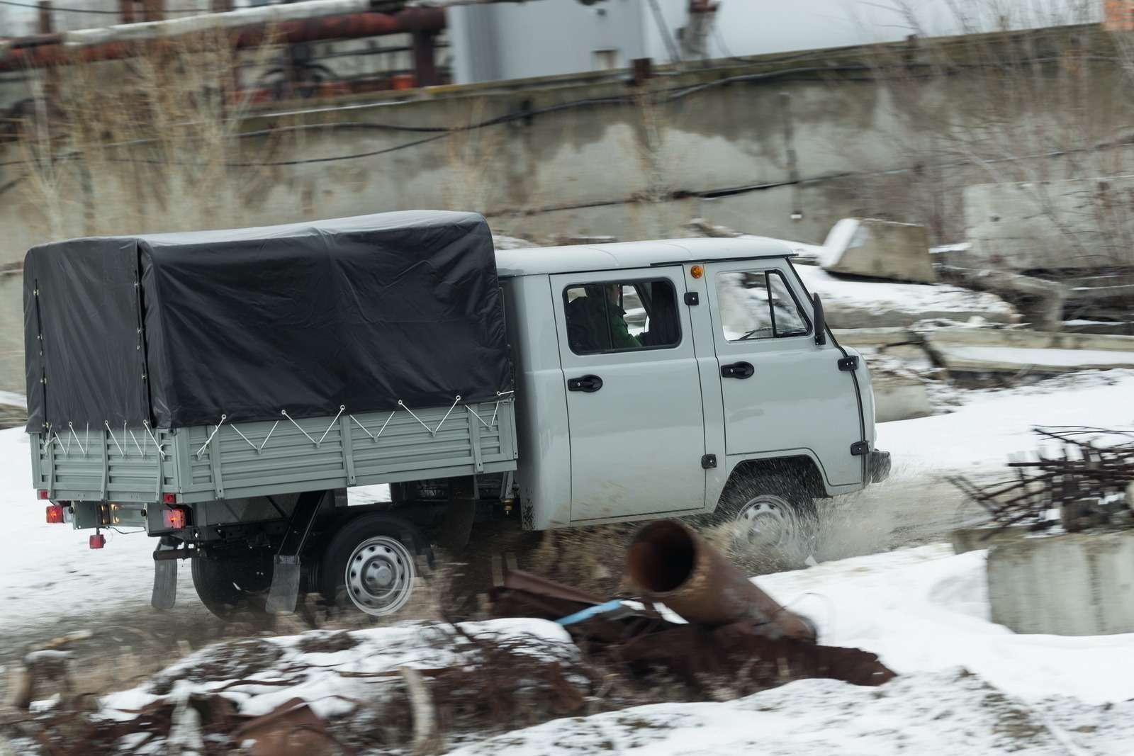 Модернизированный УАЗ Фермер