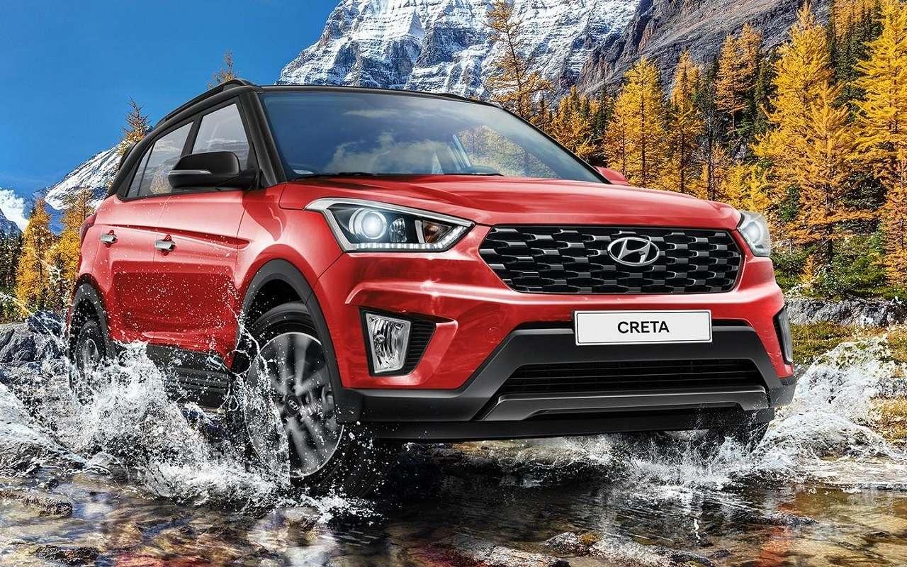 Hyundai Creta иSolaris стали дороже— фото 1234806