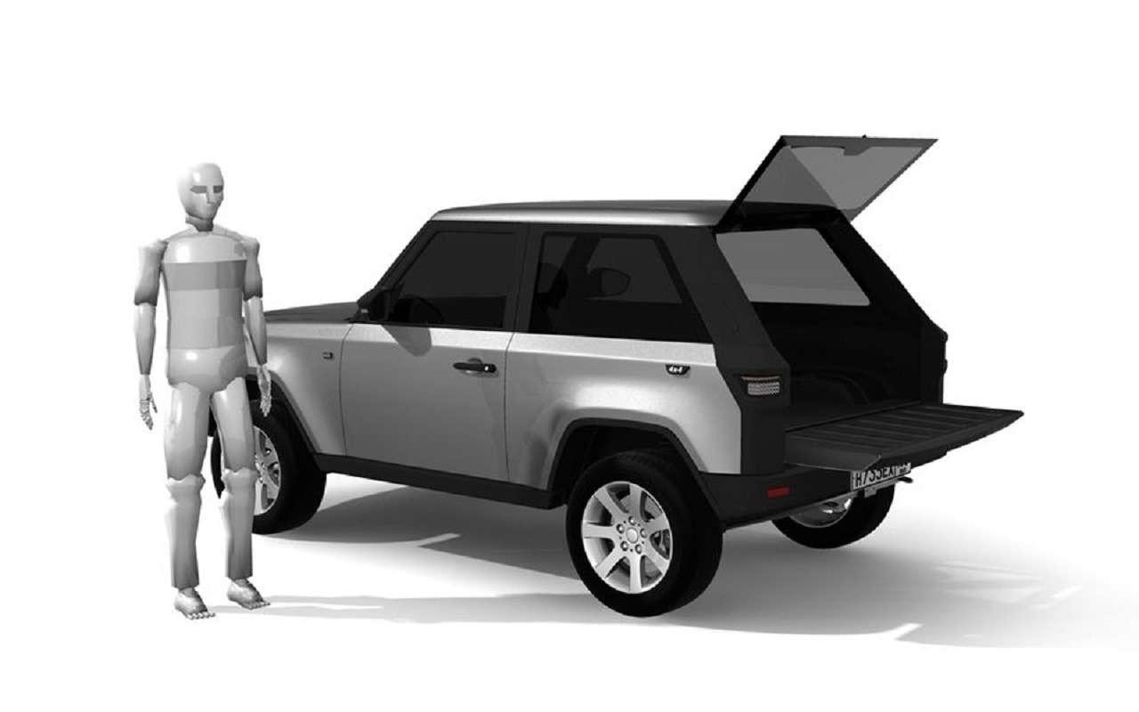 Немцы выпустят внедорожник набазе Lada 4x4— фото 1150554