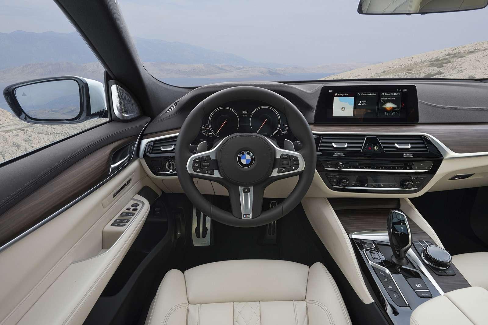 BMW6-й серии GTдляРоссии— комплектации ицены— фото 776379