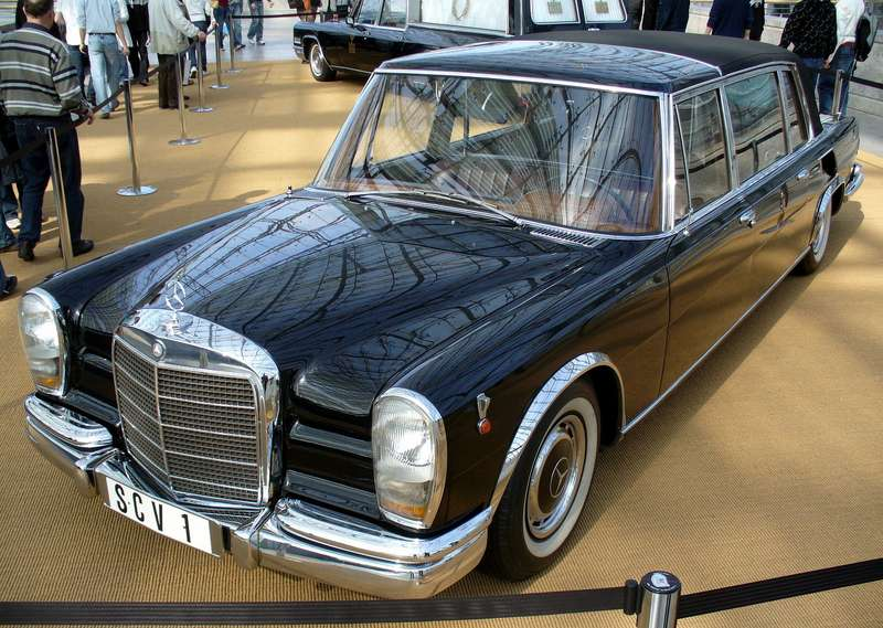 Mercedes Benz 600 Pullmann nocopyright