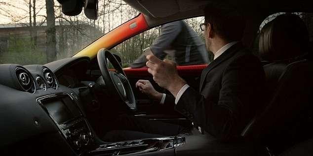 Jaguar создал систему предупреждения овелосипедистах