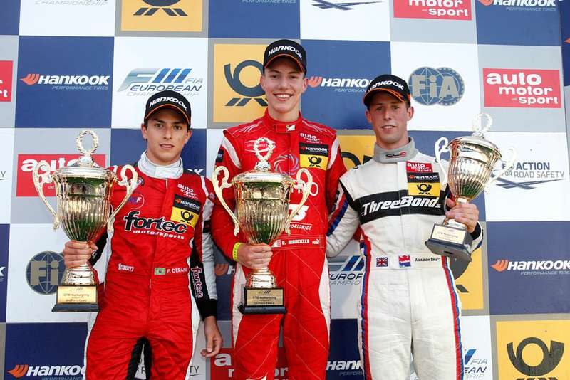 FIAFormula 3European Championship, round 7, race 2, Nuerburgring (D)