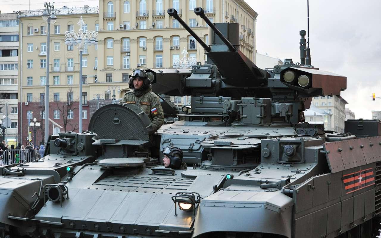 Танк дляподдержки танков— аналогов вмире снова нет!— фото 891773