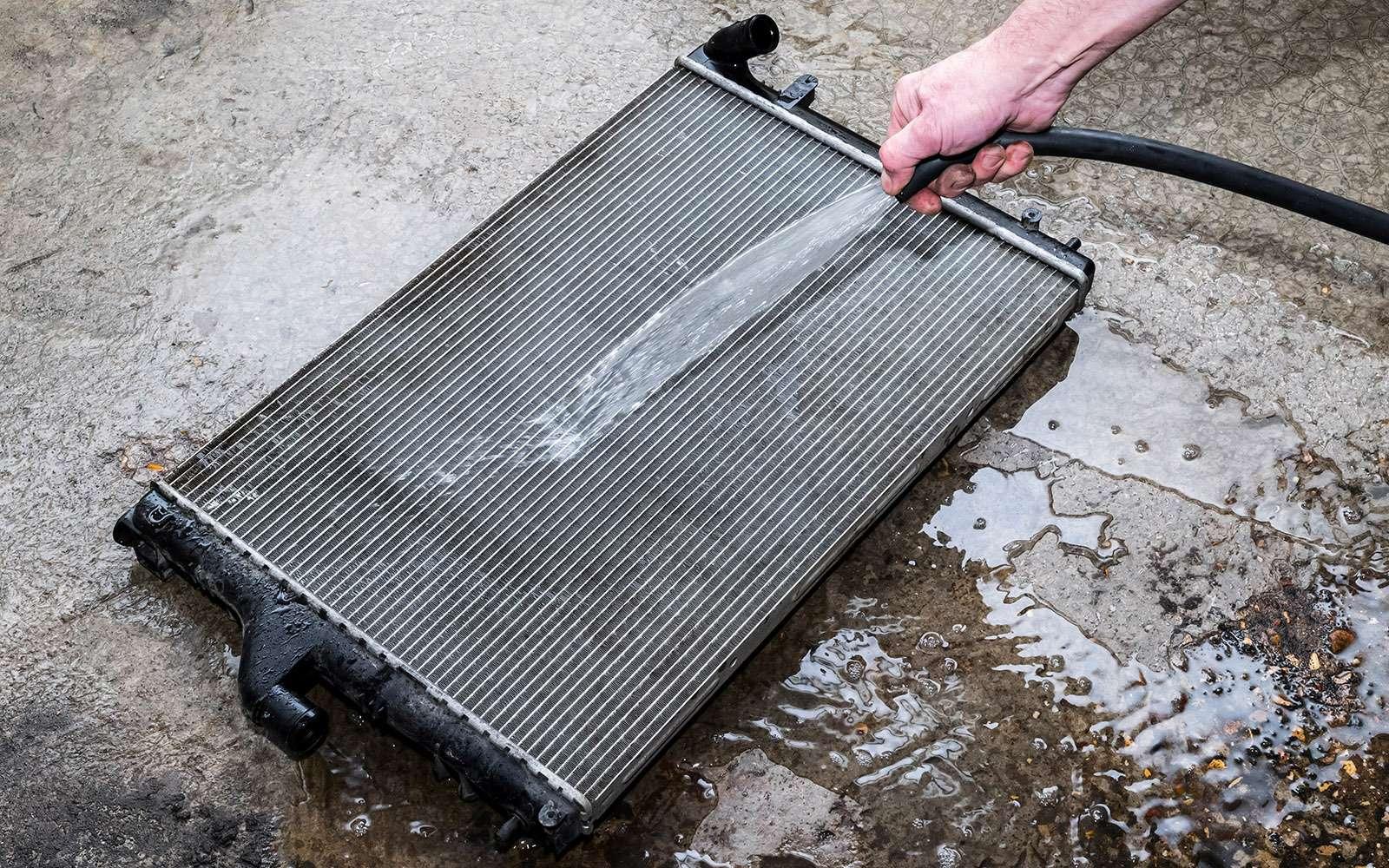 Каксамостоятельно промыть радиатор— экспертиза ЗР— фото 769535
