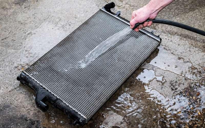 Промывка радиатора охлаждения двигателя своими руками 59