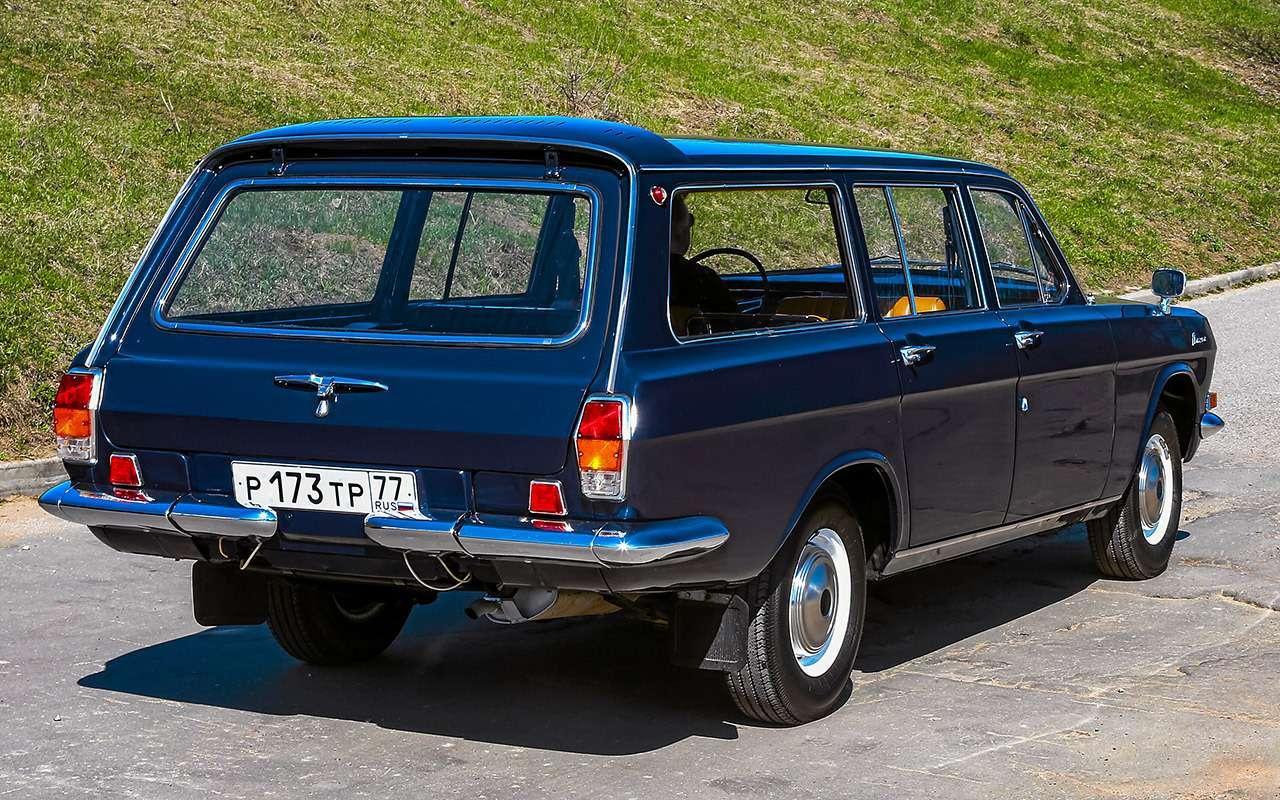 «Сарай» дляизбранных: история ГАЗ-24-02— фото 1168185