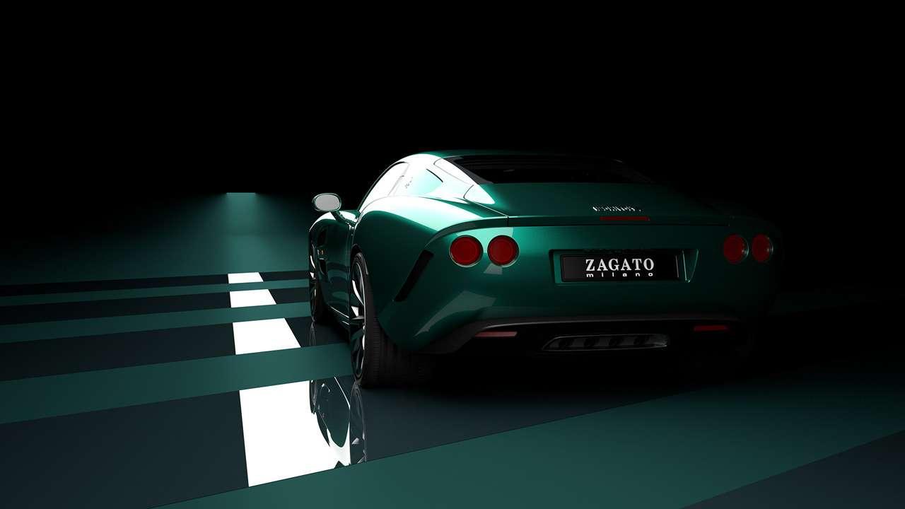 Взгляд неоторвать: Итальянская Zagato готовит купе изкарбона— фото 1155522