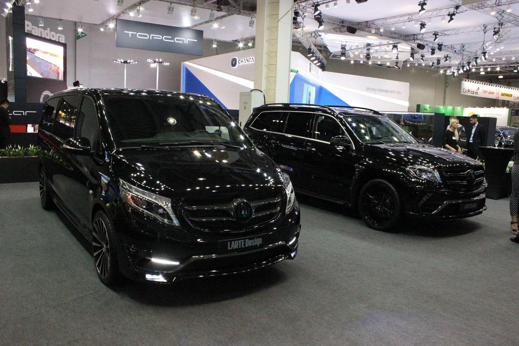 Черные кристаллы: Mercedes-Benz стемной стороны— фото 624522