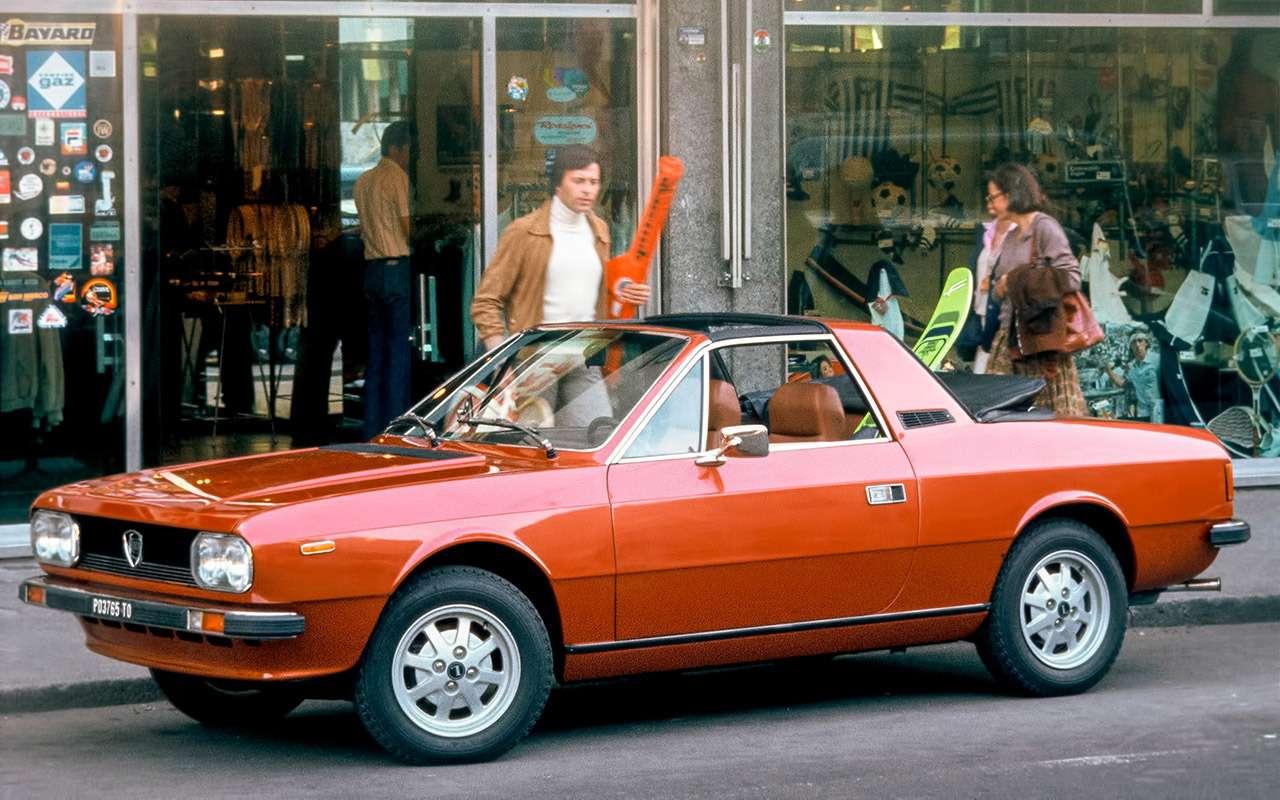 Прекрасная итальянка: ретротест купе Lancia Beta— фото 1116970