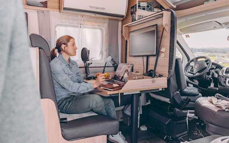 Хоум-офис вкемпере: оригинальное решение рабочего стола
