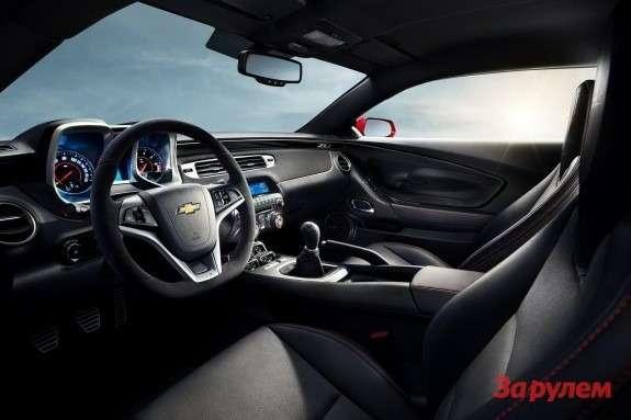 Chevrolet Camaro ZL1 Convertible inside