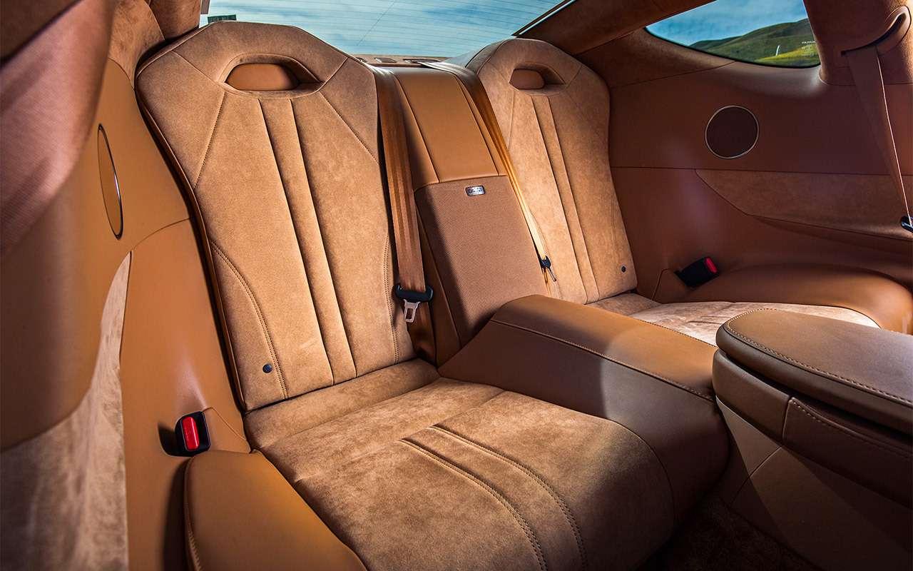 Lexus LC500— тест-драйв ЗР— фото 805884