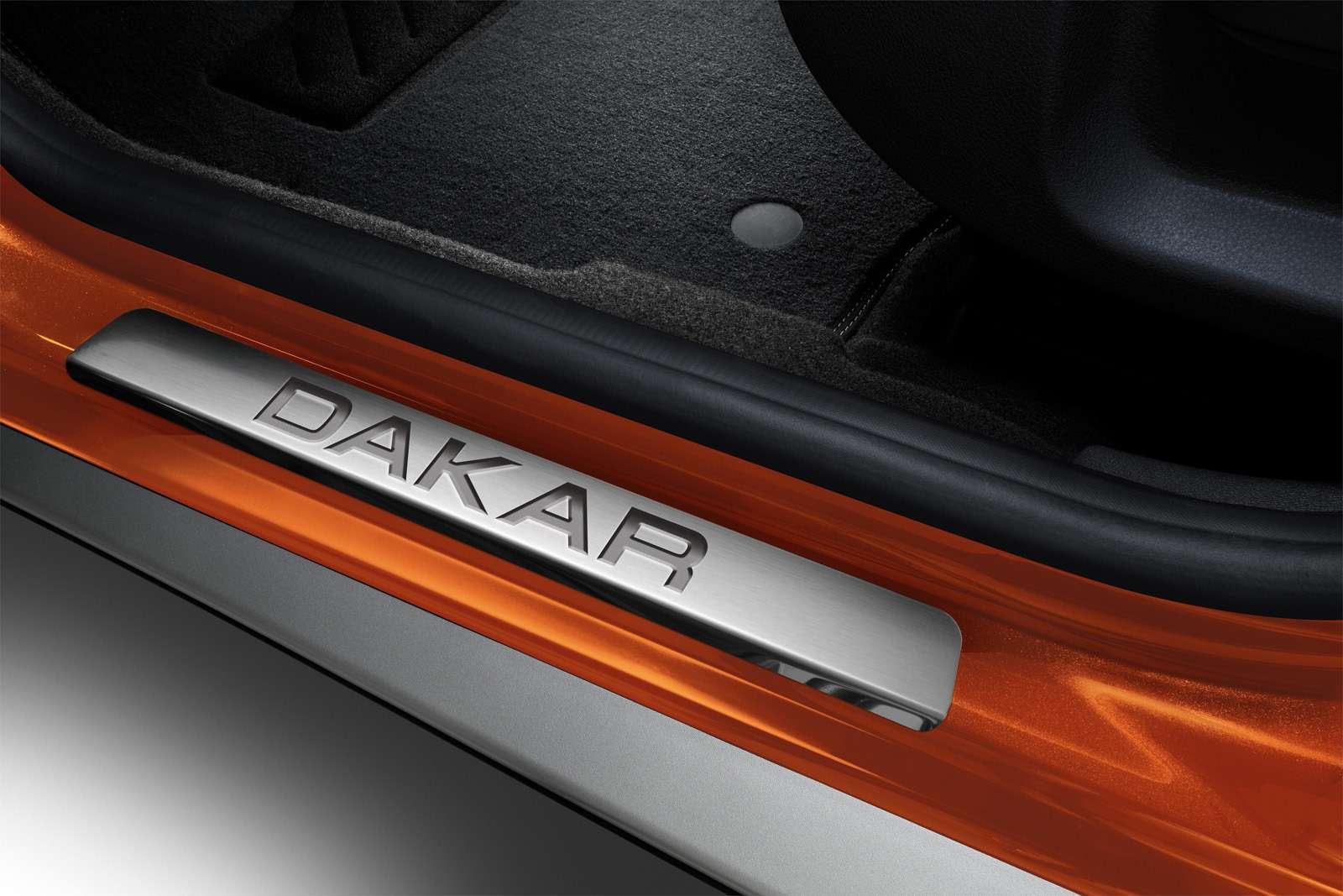 Обновленная спецсерия Renault Duster Dakar— уже вавтосалонах— фото 871374
