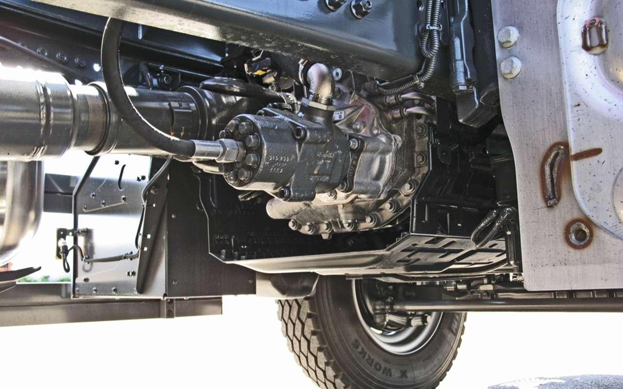 Mercedes Arocs российской сборки— детальный обзор— фото 1279152