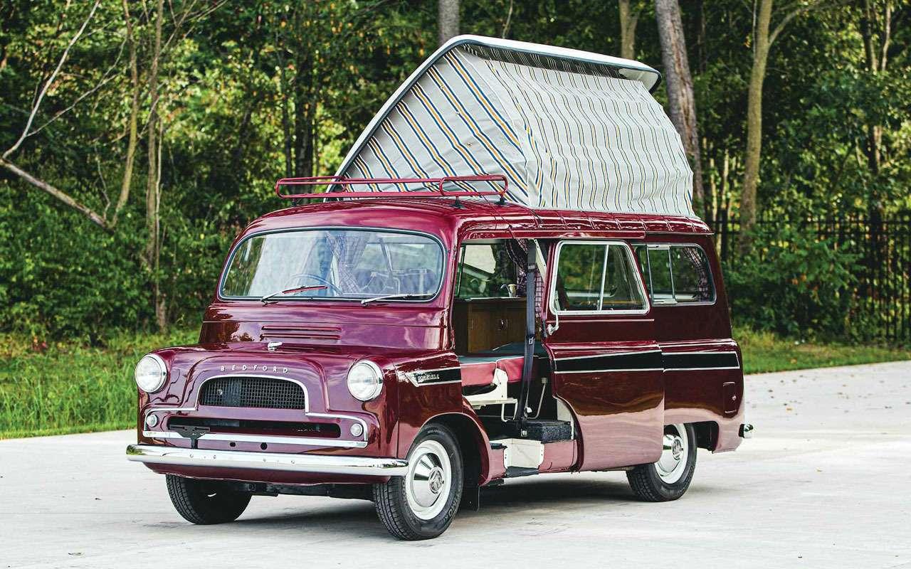Первый британский кемпер 1961 года выставили напродажу— фото 1118607